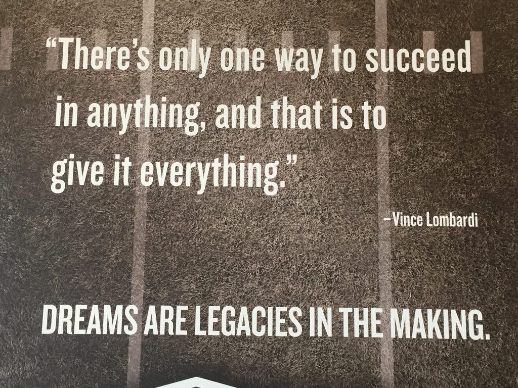 lombardi on Success