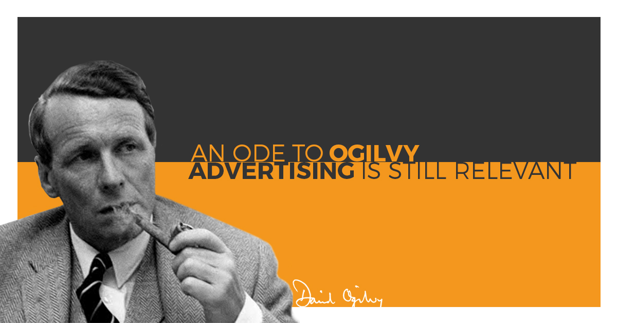 Advertising is just as relevant in WordPress as it was back in the day of David Ogilvy. We could accomplish a lot -- together.
