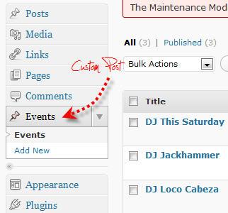 WordPress Custom Post Type Tutorials